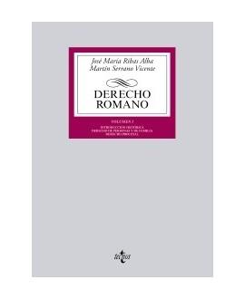 Derecho romano Volumen I. Introducción histórica. Derecho de personas y de familia. Derecho procesal