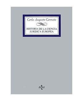 Historia de la ciencia jurídica europea