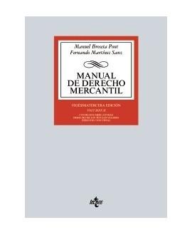 Manual de Derecho Mercantil Vol. II.