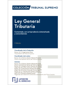 Ley General Tributaria comentada, con jurisprudencia sistematizada