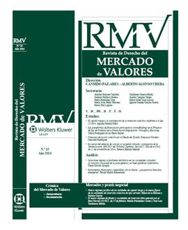 Revista Derecho del Mercado de Valores