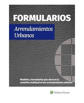 Formularios Arrendamientos Urbanos  @WK_Legal
