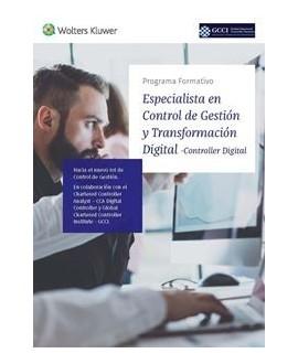 Especialista en Control de Gestión y Transformación Digital (Controller Digital)