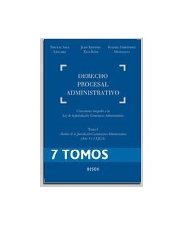 Tomos Derecho Procesal Administrativo