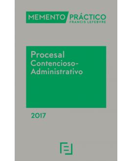 Memento Procesal Contencioso-Administrativo 2017