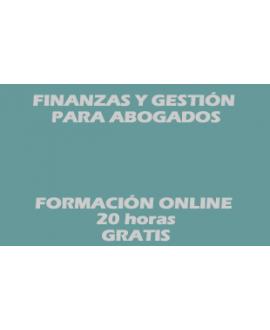 curso online Finanzas y gestión para abogados