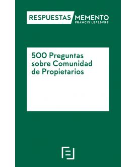 500 Preguntas sobre Comunidades de Propietarios