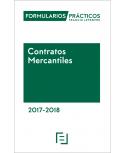 Formularios Prácticos Contratos Mercantiles 2017-2018 (papel+Internet)