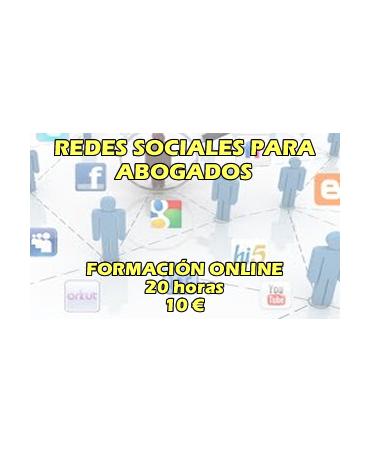 Curso online Gestión de redes sociales para Abogados
