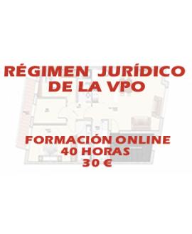 Curso online Régimen jurídico de la vivienda de protección oficial