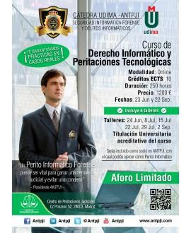 Curso de Derecho Informático y Peritaciones Judiciales
