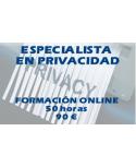 Curso online Especialista en Privacidad