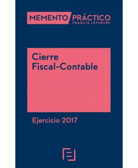 Memento Cierre Fiscal-Contable Ejercicio 2017