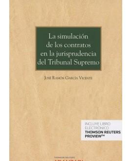 La simulación de los contratos en la jurisprudencia del Tribunal Supremo