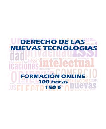 Curso online derecho de las nuevas tecnologías