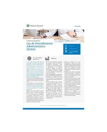 Ley de Procedimiento Administrativo (Ley 39/2015)