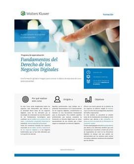 Curso Fundamentos del Derecho de los Negocios Digitales