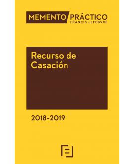 Memento Recurso de Casación 2018-2019