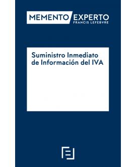 Memento Experto Suministro Inmediato de la Información del IVA