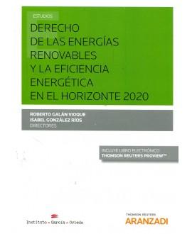 Derecho de las energías renovables y la eficiencia energética en el horizonte 2020