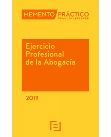 Memento ejercicio profesional abogacía 2019