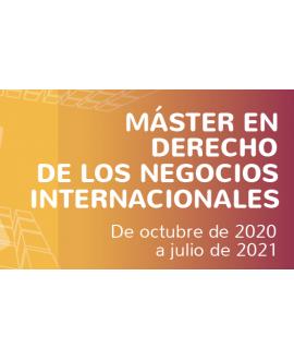 Máster en Derecho de los Negocios Internacionales
