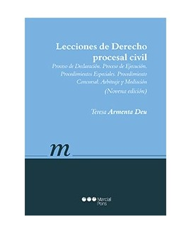 Lecciones de Derecho procesal civil