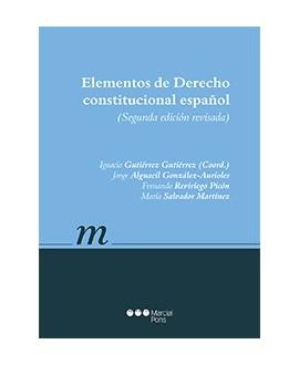 manual Elementos de derecho constitucional español