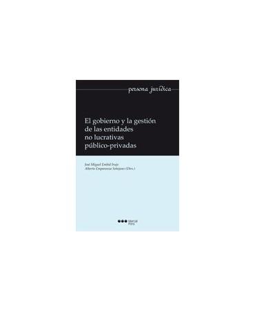 libro El gobierno y la gestión de las entidades no lucrativas público-privadas