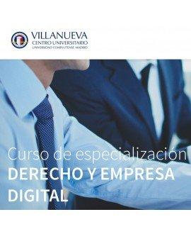 Curso de especialización en Derecho y Empresa digital