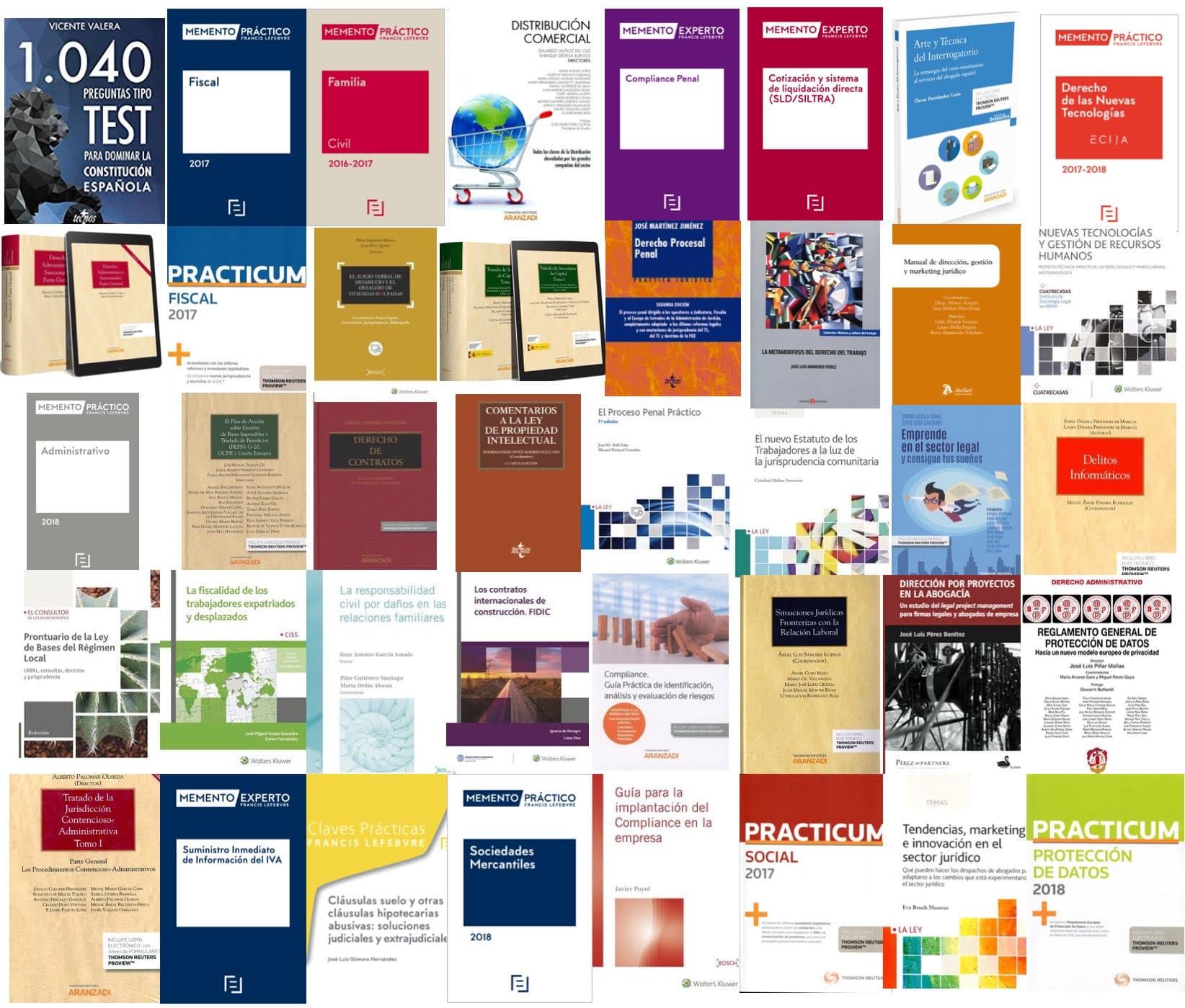 Libros de Derecho Recomendados 2017