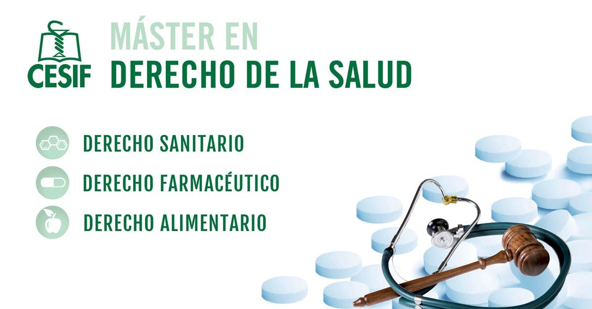 El Master en Derecho de la Salud de CESIF llega a Barcelona