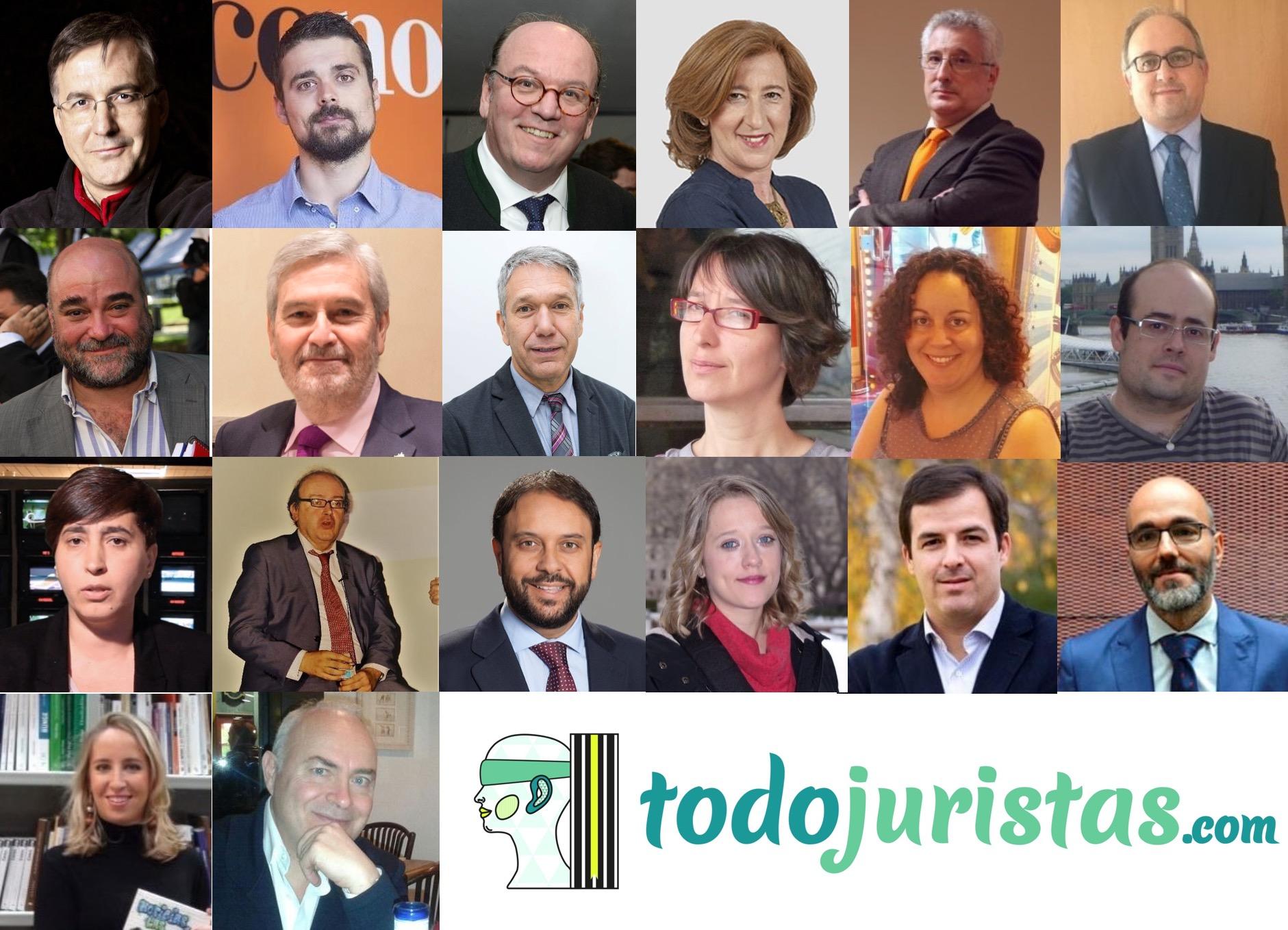 ¿Cuáles son los Periodistas que hablan sobre el Sector Jurídico?